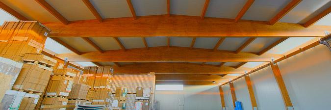 Grandi impianti in legno